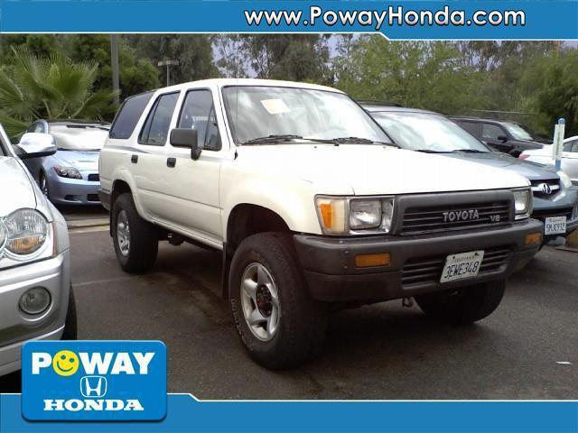 Poway Honda Service >> 1990 Toyota 4Runner SR5 for Sale in Poway, California Classified | AmericanListed.com