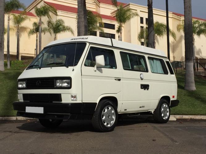 1990 Volkswagen Westfalia Camper Bus Vanagon Rwd For Sale