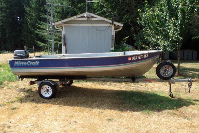 1991 14 Mirrocraft Aluminum Boat For Sale In Sheridan