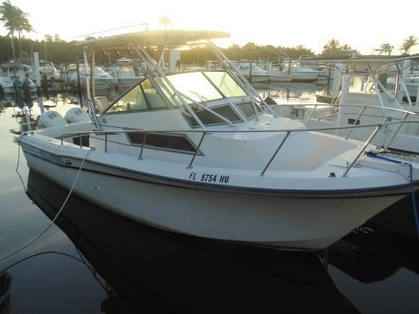 1991 25' GRADY WHITE SAILFISH SPORT-BRIDGE - $10000