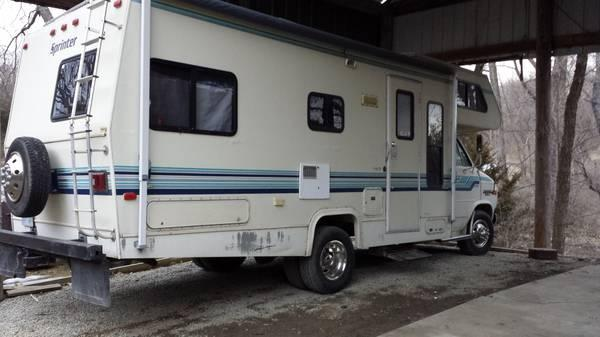 1991 30 sequence Chevy runner rv - $6500
