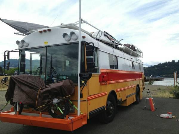 1991 32 Thomas School Bus Conversion For Sale In Idaho