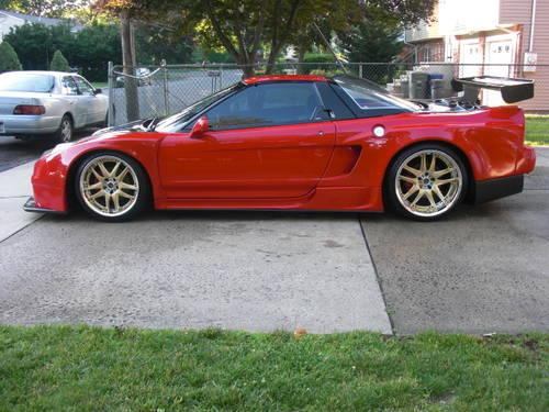 1991 acura nsx supercharged sorcery widebody aem volks 39 02 conversion for sale in fairfield. Black Bedroom Furniture Sets. Home Design Ideas
