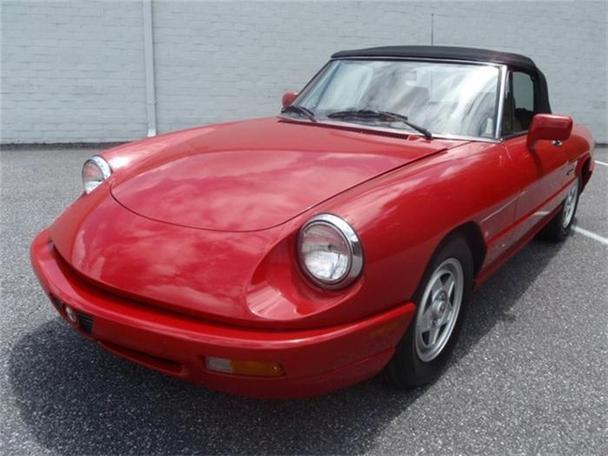 Alfa Romeo Spider For Sale In Hickory North Carolina - 1991 alfa romeo spider for sale