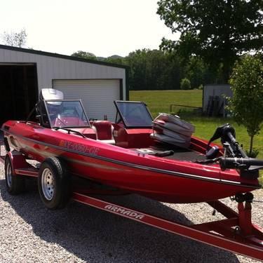 1991 Armada Bass Boat For Sale In Jeffersonville Kentucky