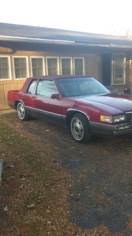 1991 cadillac deville coupe for sale in columbus ohio. Black Bedroom Furniture Sets. Home Design Ideas