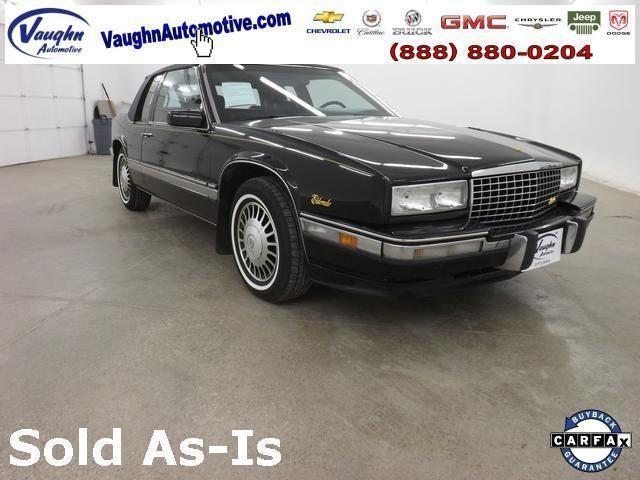 1991 Cadillac Eldorado 2d Coupe Base For Sale In