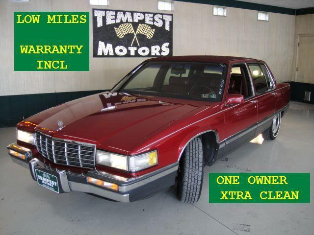 1991 cadillac fleetwood for sale in akron ohio classified for Tempest motors in akron ohio