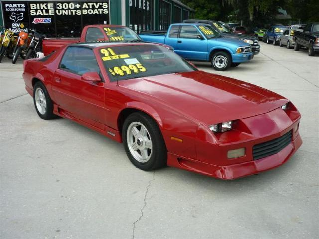 1991 chevrolet camaro rs for sale in deland florida classified. Black Bedroom Furniture Sets. Home Design Ideas