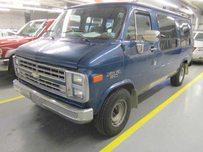 1991 Chevrolet chevy G30 Conversion Van