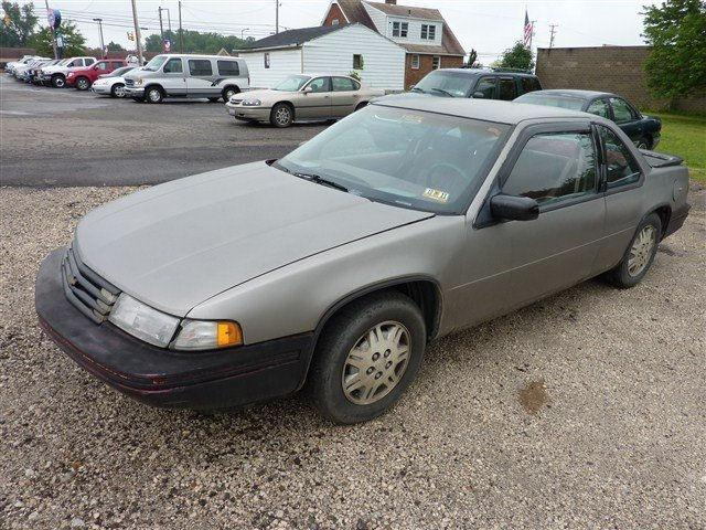 1991 chevrolet lumina euro for sale in alliance ohio for Loudon motors in alliance ohio