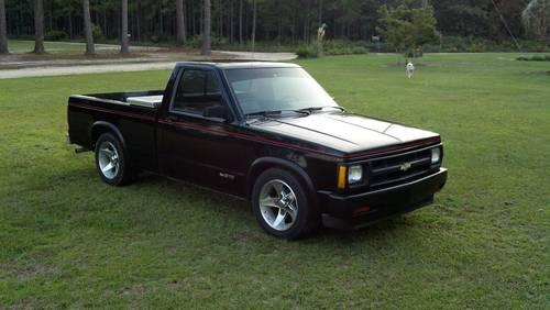 1991 Chevrolet S10 Base Reg Cab Black 104k Mi For