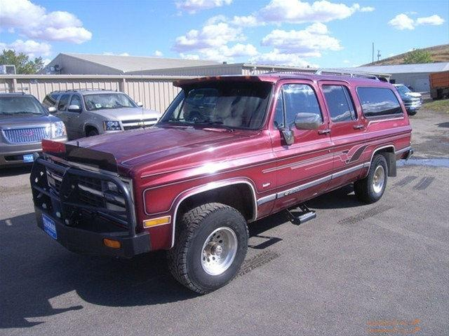 1991 Chevrolet Suburban For Sale In Havre Montana