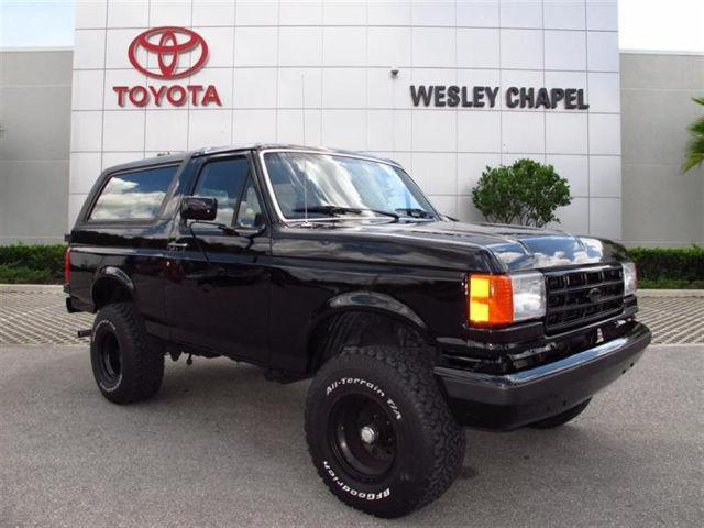 Bucket Trucks For Sale In Florida >> 1991 Ford Bronco for Sale in Wesley Chapel, Florida Classified | AmericanListed.com