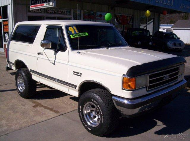 American Auto Sales Nc: 1991 Ford Bronco XLT For Sale In Havelock, North Carolina