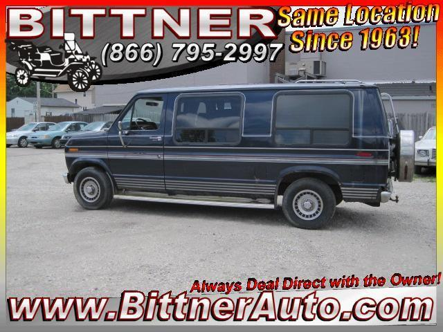 1991 ford e150 for sale in akron ohio classified. Black Bedroom Furniture Sets. Home Design Ideas