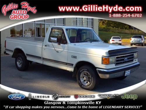 1991 Ford F-150 Regular Cab 4X4 XLT Lariat 4x4 for Sale in ...