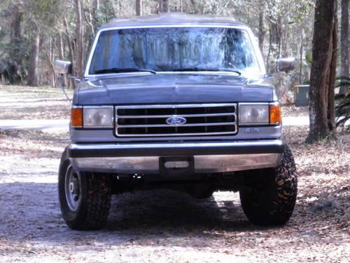 1991 ford f250 lariat extended cab 4x4 topper 24 766 miles for sale in woodbine georgia. Black Bedroom Furniture Sets. Home Design Ideas