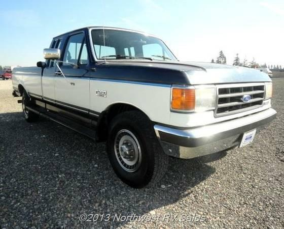1991 ford f250 xlt 7 3l turbo diesel tow vehicle for
