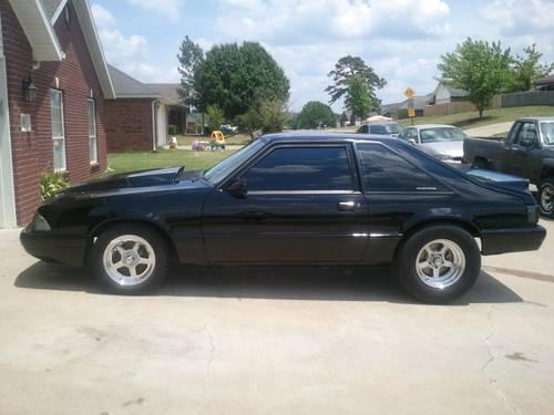 1991 ford mustang lx 5 0 street strip roller for sale in baldwin arkansas classified. Black Bedroom Furniture Sets. Home Design Ideas