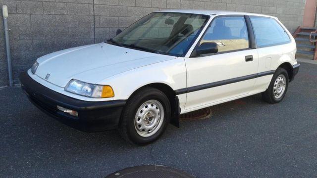 1991 Honda Civic Hatchback Classic