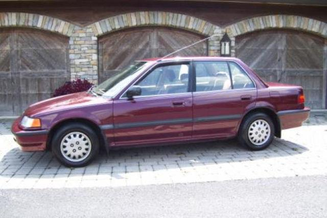 1991 honda civic lx for sale in ephrata pennsylvania classified. Black Bedroom Furniture Sets. Home Design Ideas
