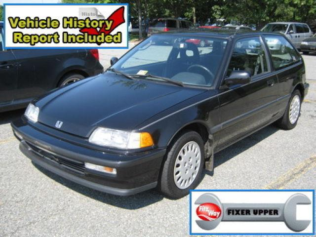 1991 honda civic si for sale in gaithersburg maryland classified. Black Bedroom Furniture Sets. Home Design Ideas