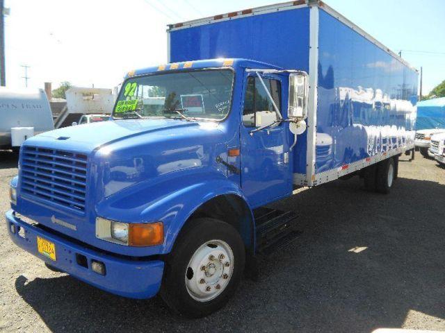 1991 international box truck 26ft for sale in portland oregon classified. Black Bedroom Furniture Sets. Home Design Ideas