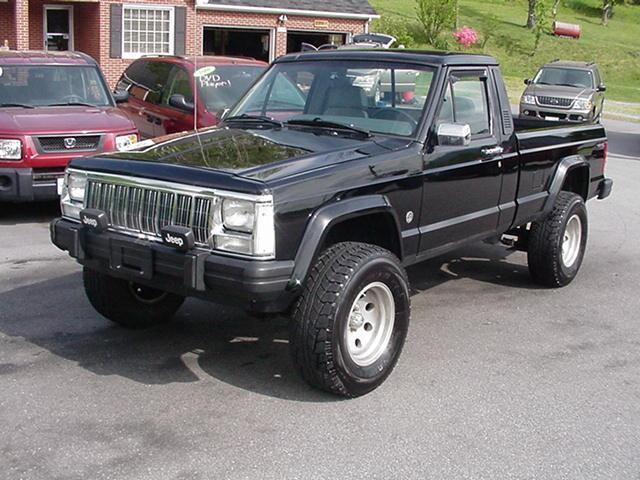 1991 jeep comanche for sale in jefferson north carolina classified. Black Bedroom Furniture Sets. Home Design Ideas