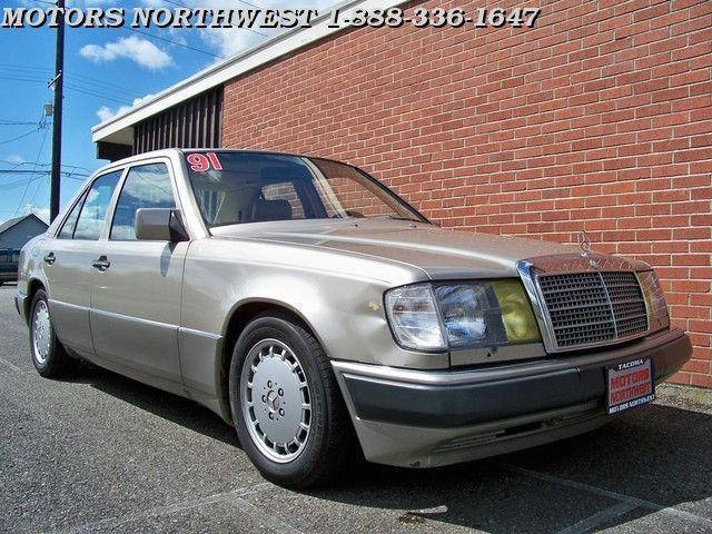 1991 mercedes benz e class 300e for sale in tacoma. Black Bedroom Furniture Sets. Home Design Ideas