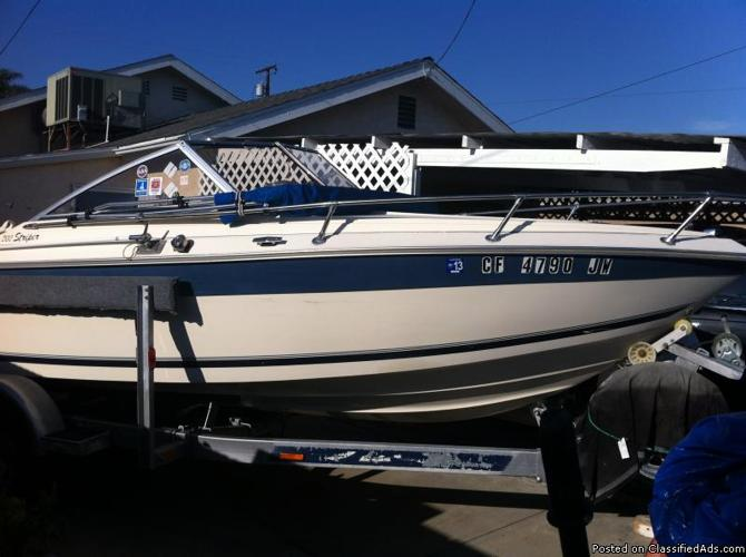 1991 Seaswirl Striper 20 For Sale In Seal Beach California
