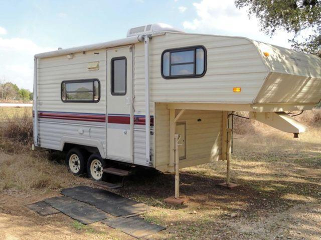 1991 terry resort 19 39 5th wheel rv for sale in boerne for Motor homes for sale in texas