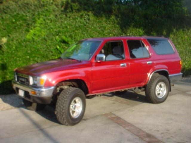 1991 toyota 4runner sr5 for sale in santa ana california classified. Black Bedroom Furniture Sets. Home Design Ideas