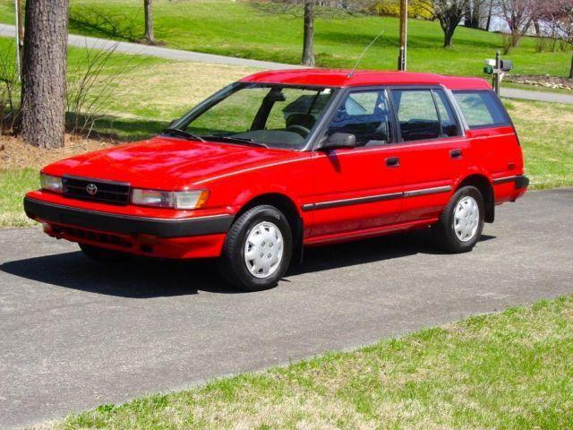 1991 toyota corolla alltrac wagon awd for sale in mount airy north carolina classified. Black Bedroom Furniture Sets. Home Design Ideas