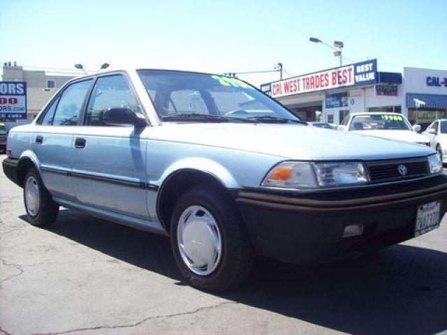 1991 toyota corolla deluxe for sale in san leandro for Cal west motors san leandro ca