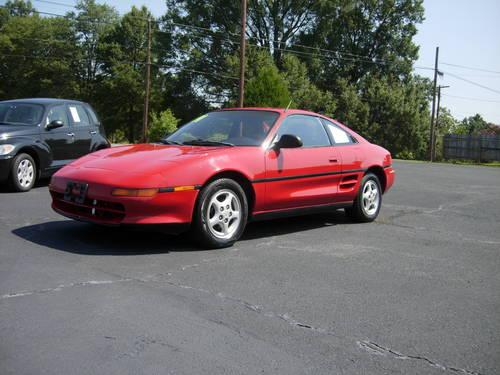 1991 toyota mr2 2dr coupe rides and drives nice 5 speed for sale in salisbury north. Black Bedroom Furniture Sets. Home Design Ideas