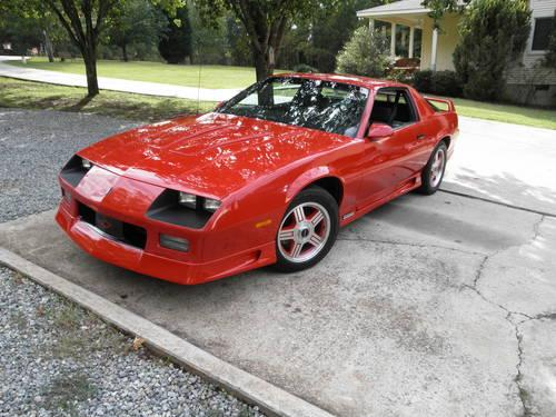 1991 Z28 1le Camaro For Sale In Macon Georgia Classified