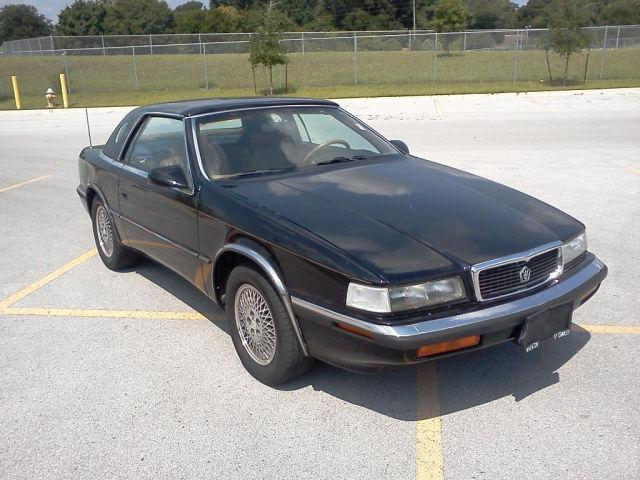1991 chrysler tc by maserati for sale in winter haven florida. Cars Review. Best American Auto & Cars Review