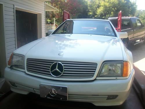 1991 mercedes benz 300sl roadster convertible for Mercedes benz erie pa