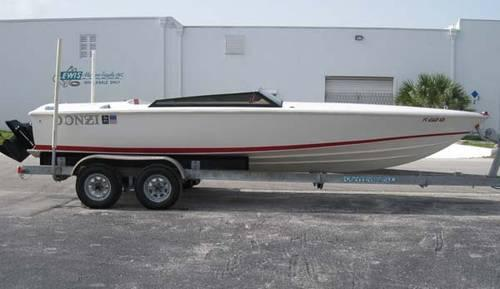 1992 22 Donzi 22 Classic For Sale In Fort Lauderdale