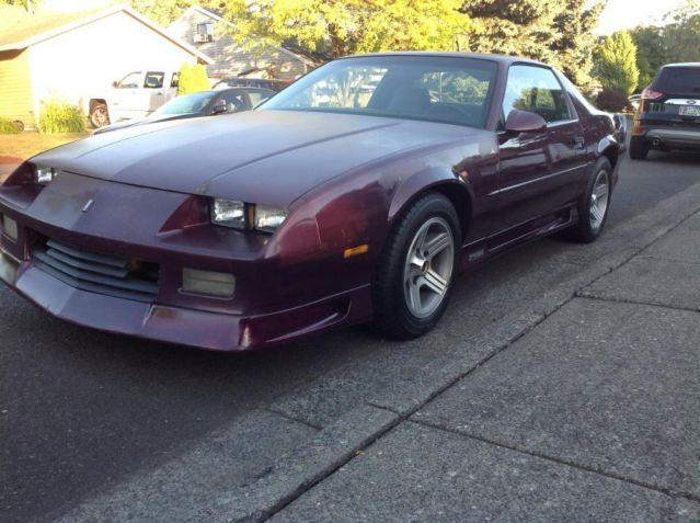 1992 camaro 25th anniversary for sale in beaverton oregon. Black Bedroom Furniture Sets. Home Design Ideas