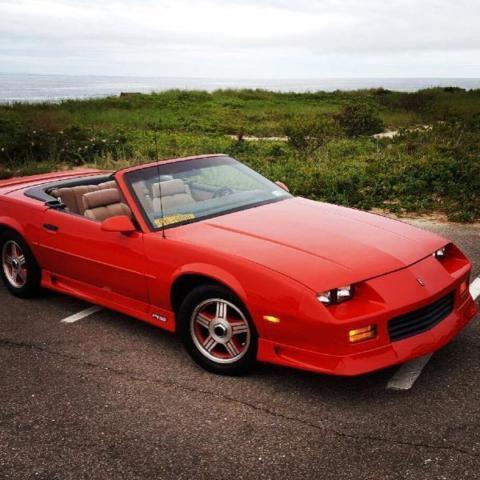 1992 Camaro Convertible 25th Anniversary Edition