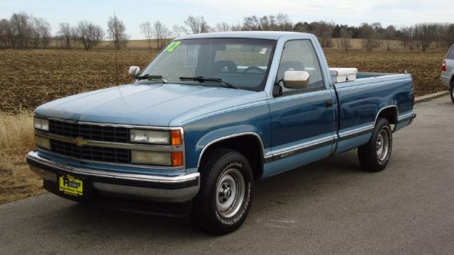 American Auto Sales Little Rock: 1992 Chevrolet 1500 Silverado For Sale In Shell Rock, Iowa