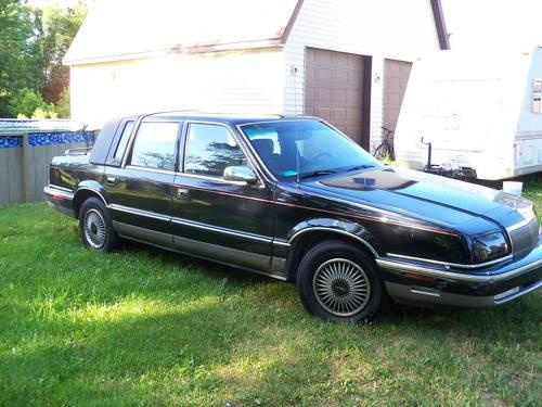 1992 chrysler new yorker fifth avenue black 148 000 for 1992 chrysler new yorker salon