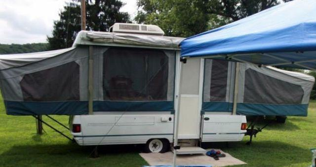 1992 Coleman Sequoia Pop Up Camper Trailer For Sale In