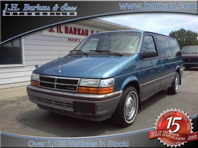 1992 Dodge Grand Caravan Le For Sale In Cedarville