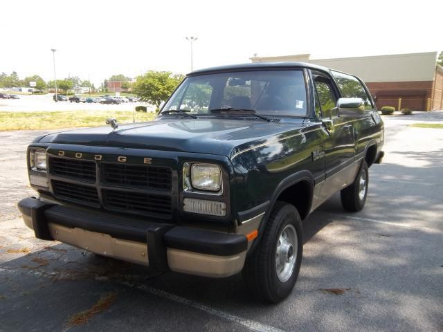 American Auto Sales Nc: 1992 Dodge Ramcharger For Sale In Henderson, North