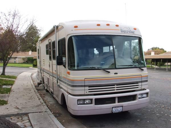 1992 Fleetwood Bounder Motorhome For Sale In Paso Robles California Classified