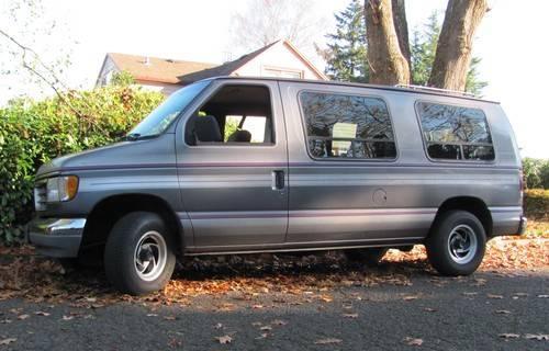 1992 39 ford e150 conversion van for sale in portland oregon classified. Black Bedroom Furniture Sets. Home Design Ideas