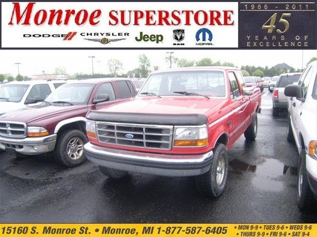 1992 ford f150 custom for sale in monroe michigan classified. Black Bedroom Furniture Sets. Home Design Ideas